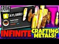 Taylor Hobbs EXPLAINS How To Get INFINITE CRAFTING METALS (GLITCH) in Apex Legends Season 8!