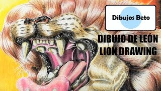 "DIBUJOS ORIGINALES [ Speed drawing ] ""Dibujo de león / Lion drawing"""