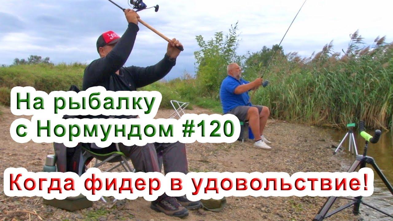 Когда фидер в удовольствие! / На рыбалку с Нормундом #120