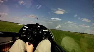 ZC Flevo Pilatus B4 aborted winch launch