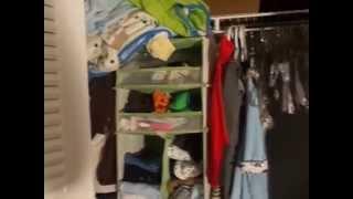 Munchkin 6 Shelf Closet Organizer For Baby Items