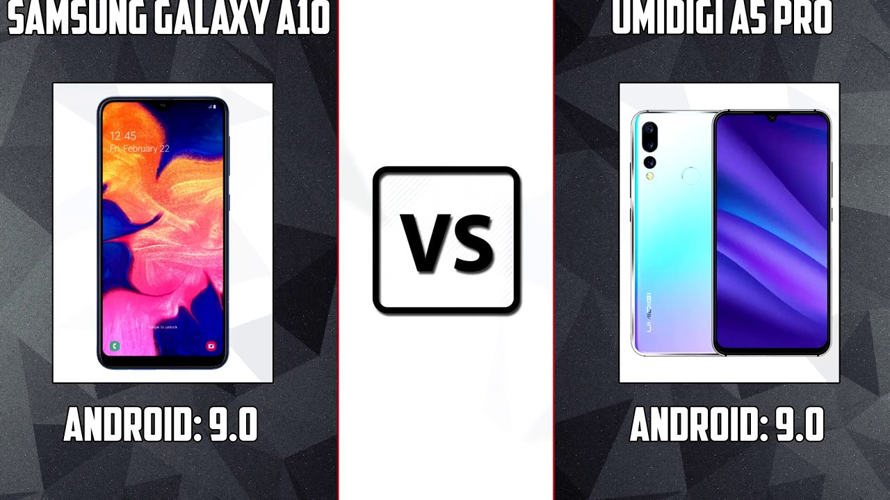 Samsung Galaxy A10 VS Umidigi A5 Pro Review Comporasion