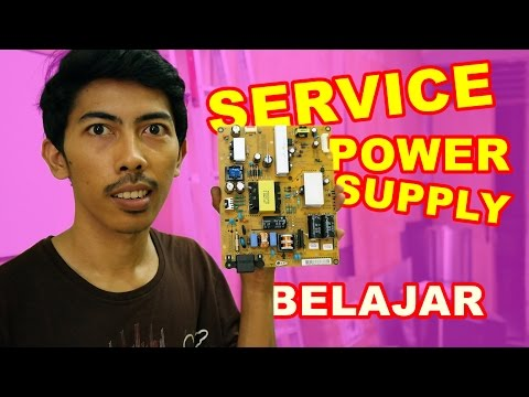 Belajar Memperbaiki Power Supply VLOG14