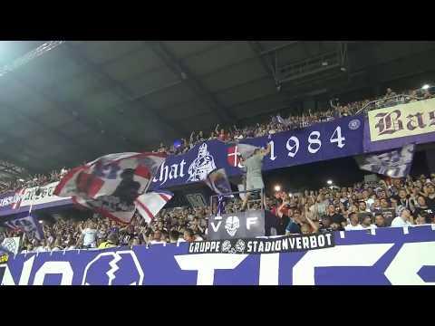 Austria Wien Vs Wacker Innsbruck 2:1, Support Austria Fans - 28.7.2018