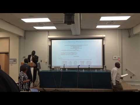 2nd Annual CASS Conference - Panel 3: U.S. Policy on South Sudan and Panel 4 (part 1)