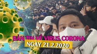 Hàn Quốc lây lan mạnh, Việt kiều hoang mang thế nào? | Bản tin về virus corona ngày 21.2.2020