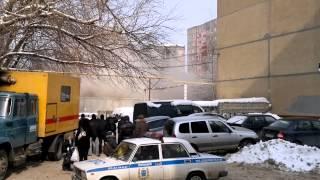 Снос дома взрывом в Саратове с визгом)))