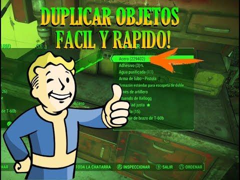 TRUCO: Duplicar chatarra fácil y rapido en Fallout 4/ Noviembre 2017