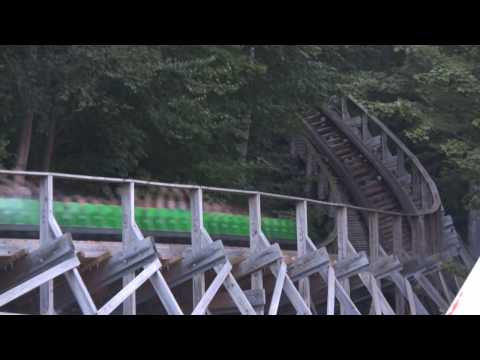 Lake Compounce 2009 Featuring Boulder Dash - HD