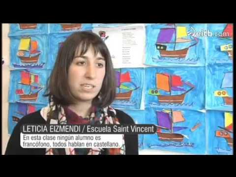 Los alumnos de Hendaia prefieren el castellano al euskera y el francés