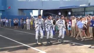 Экипаж ТПК 'Союз МС-05' к полёту готов