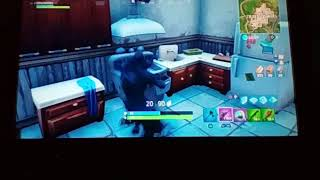 Fortnite Raven skin playground highest point in the game
