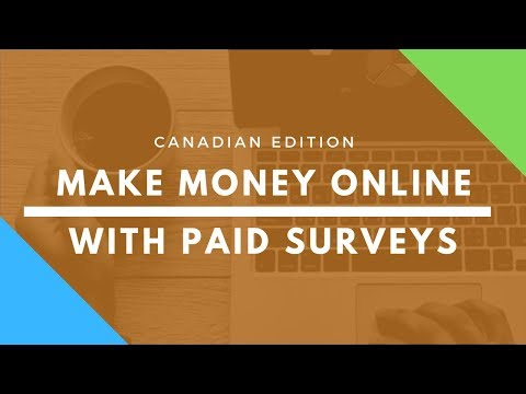 Make Money Online In Canada With Surveys - 11 REAL Companies
