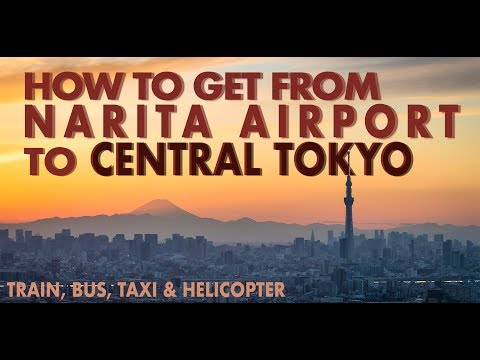 How To Get From Narita Airport To Central Tokyo