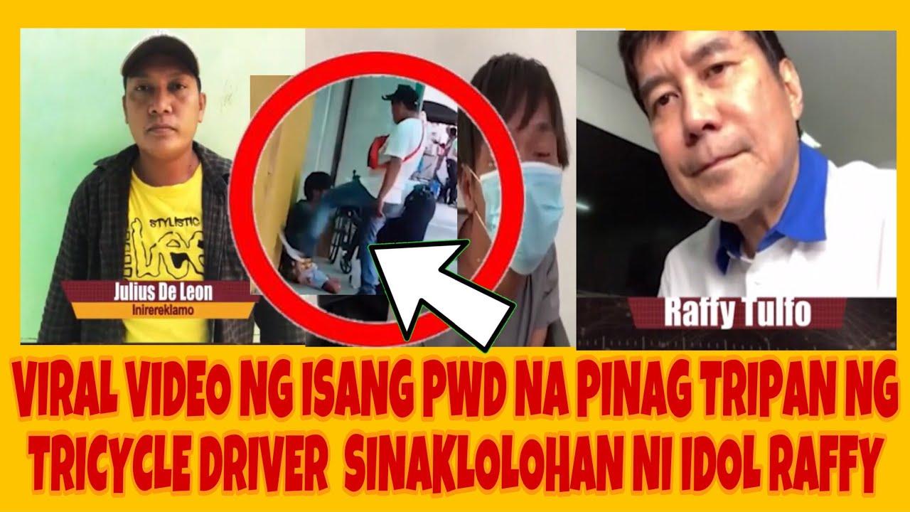 Download VIRAL VIDEO NG ISANG PWD NA PINAG TRIPAN NG TRICYCLE DRIVER SINAKLOLOHAN NI IDOL RAFFY