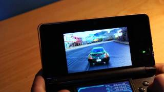 Asphalt 3D Nintendo 3DS Gameplay Nissan 370Z Full HD