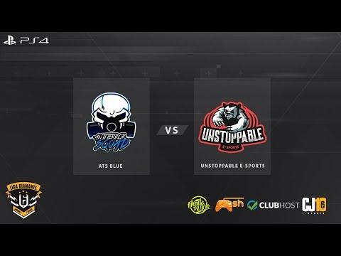 Liga Diamante #11 - PS4 (Rodada 3) ATS Blue X Unstoppable E-sports