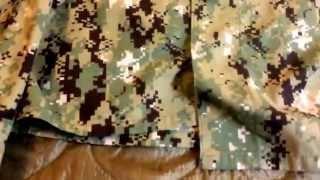 Navy Working Uniform Type 2 (AOR 2)