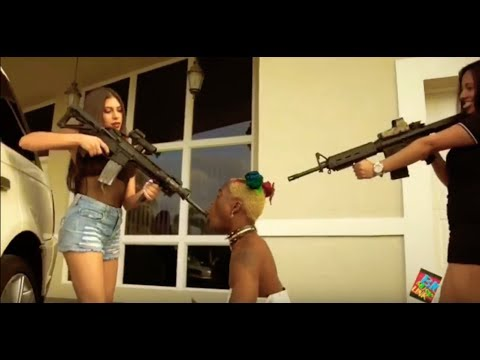 LATRUTH - Exposes Rappers Wearing Dresses and carrying guns !