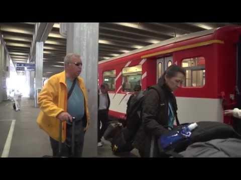 Zermatt to Locarno, Switzerland by train