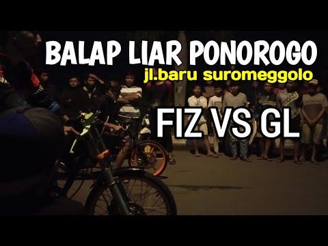 Gokill..!! Balap Liar Ponorogo FIS VS GL_Jl.baru Ponorogo