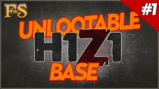 Unlootable Base Design H1z1 - Safest Base - H1z1 Guide #1
