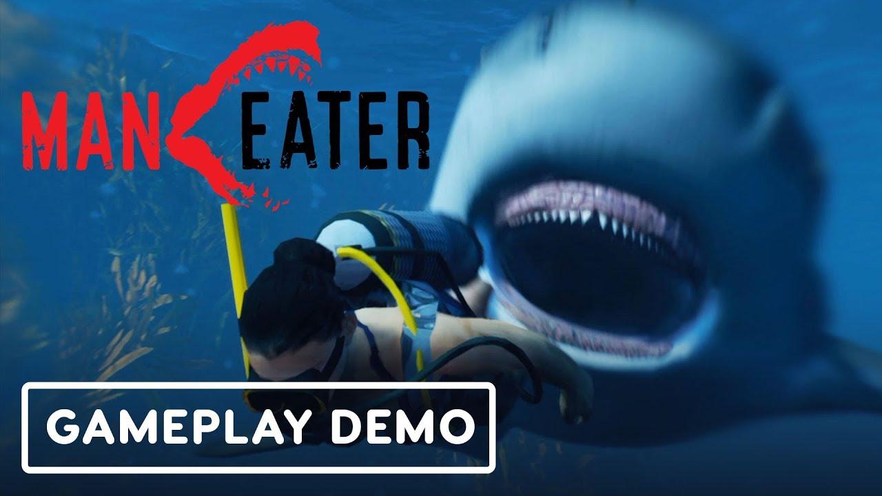 Maneater: Die Hai-Seelen der Open World Shark Games - Gamescom 2019 + video