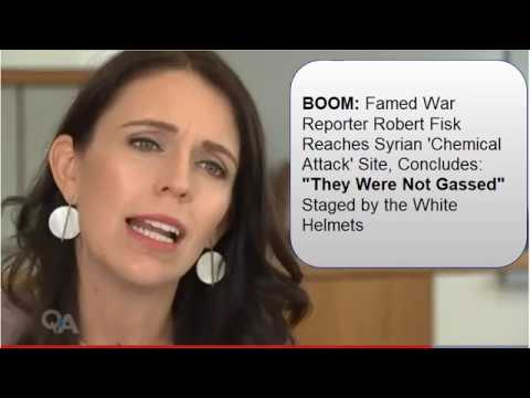 Jacinda Ardern (PM) called out by Robert Fisk as a Fraud