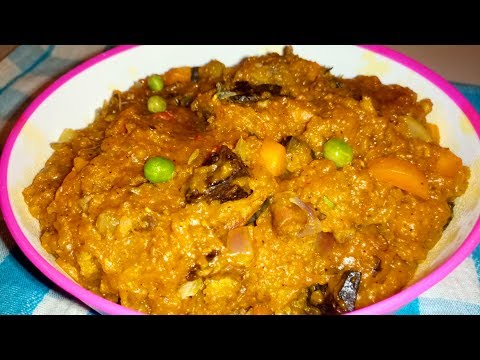 Amora food: How to Prepare Amora (Amwuam), A typical Tarok Food