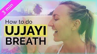 Yoga Breathing Techniques: How to do Ujjayi Pranayama | My 3 Tips