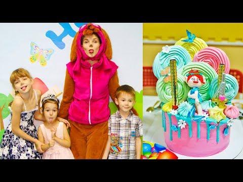 На KidsFM День рождения Анюты, 4 года! (16 серия на KidsFM) видео для детей