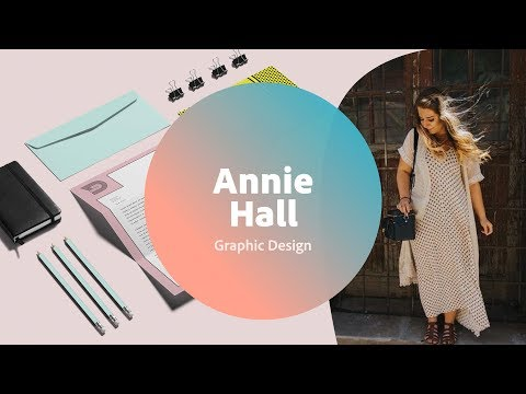 Live Graphic Design with Annie Hall - 1 of 3