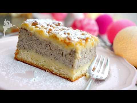 Mohnstreuselkuchen - Mohn Grieß Streusel Kuchen vom Blech - Klassischer Mohnstreusel - Kuchenfee