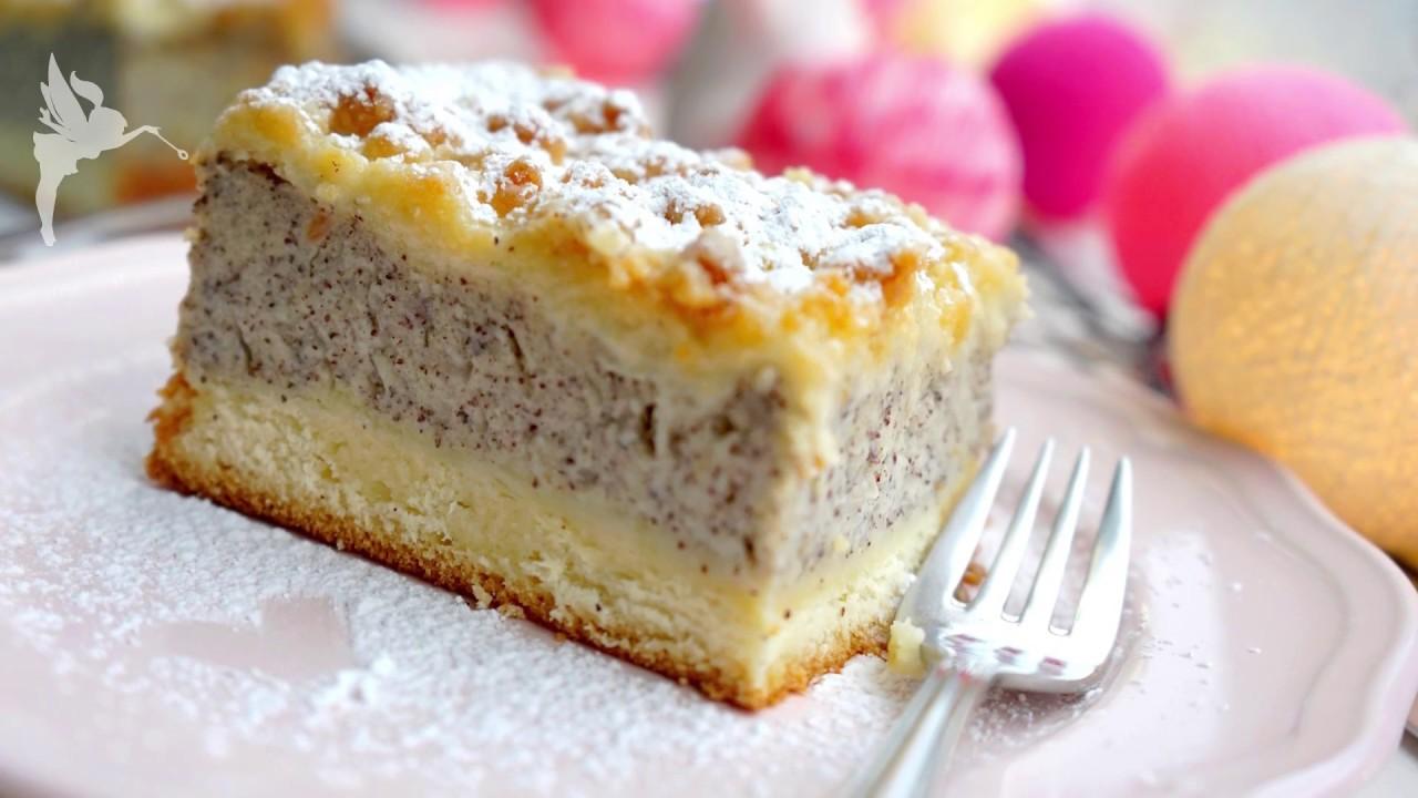 Mohnstreuselkuchen Mohn Griess Streusel Kuchen Vom Blech
