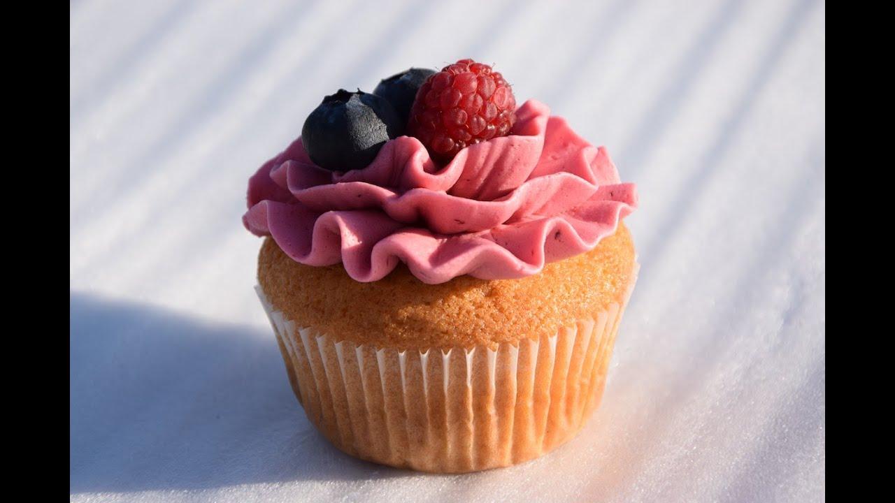 cupcake rezept mit heidelbeeren youtube. Black Bedroom Furniture Sets. Home Design Ideas