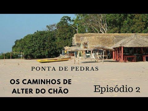 Praia de Ponta de Pedras, em Santarém, no Pará - ep. 02 - Turismo Brasil (Região Norte