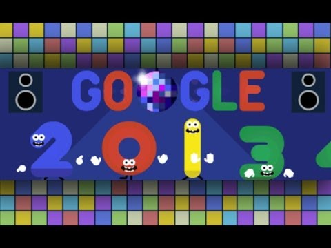 happy new years eve 20132014 google doodle hd youtube