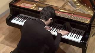 アルベニス/組曲イベリア 第4巻 第10曲 マラガ/演奏:金子一朗