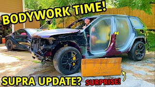 Rebuilding A Wrecked 2018 Jeep Trackhawk Part 12