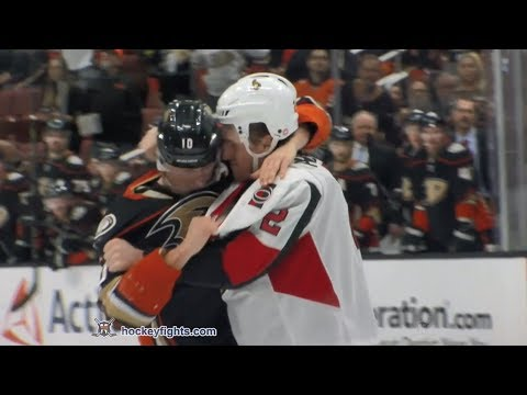 Dion Phaneuf vs Corey Perry Dec 6, 2017