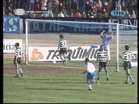 20J :: Famalicão - 1 x Sporting - 2 de 1992/1993