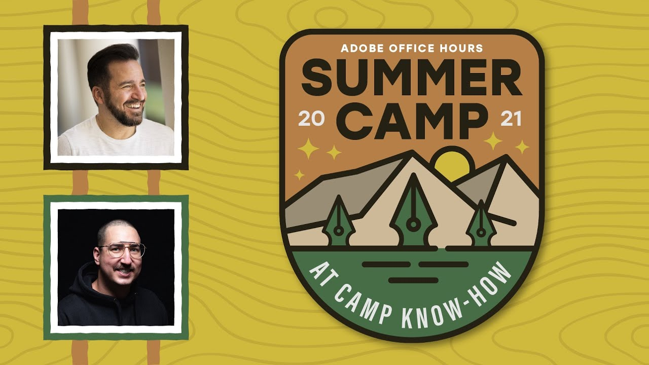 Office Hours Summer Camp: Typography Basics & Adobe Fonts