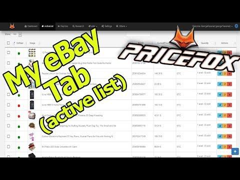 My ebay/Repricer και πρώτες ρυθμίσεις -Price-Fox Dropshipping Tool