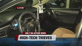 CAUGHT ON CAMERA: Car thieves go high-tech