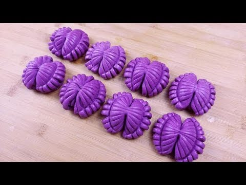 1碗紫薯1碗面粉,教你做创意面点,做法简单颜值高