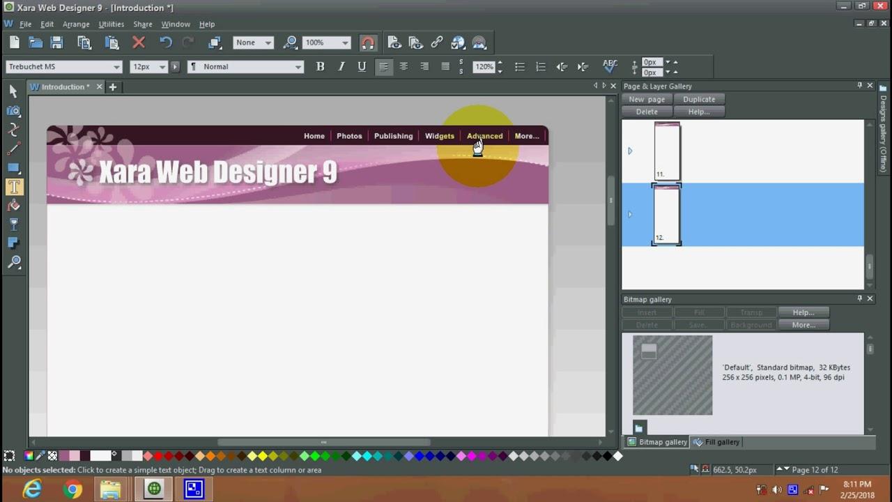 Xara Web Designer Tutorial In Hindi Software Consulting