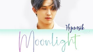 LIM HYUNSIK (임현식) (BTOB) - MOONLIGHT Lyrics (ENG/ROM/HAN)