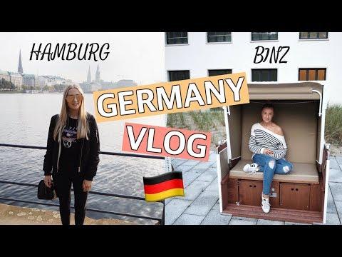 GERMANY TRAVEL VLOG 🇩🇪 HAMBURG & BINZ