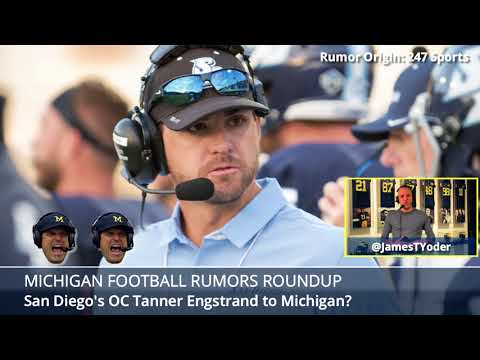 Michigan Football Rumors: Recruiting, Harbaugh, QB News, New Coaches - w/THE Insider James Yoder