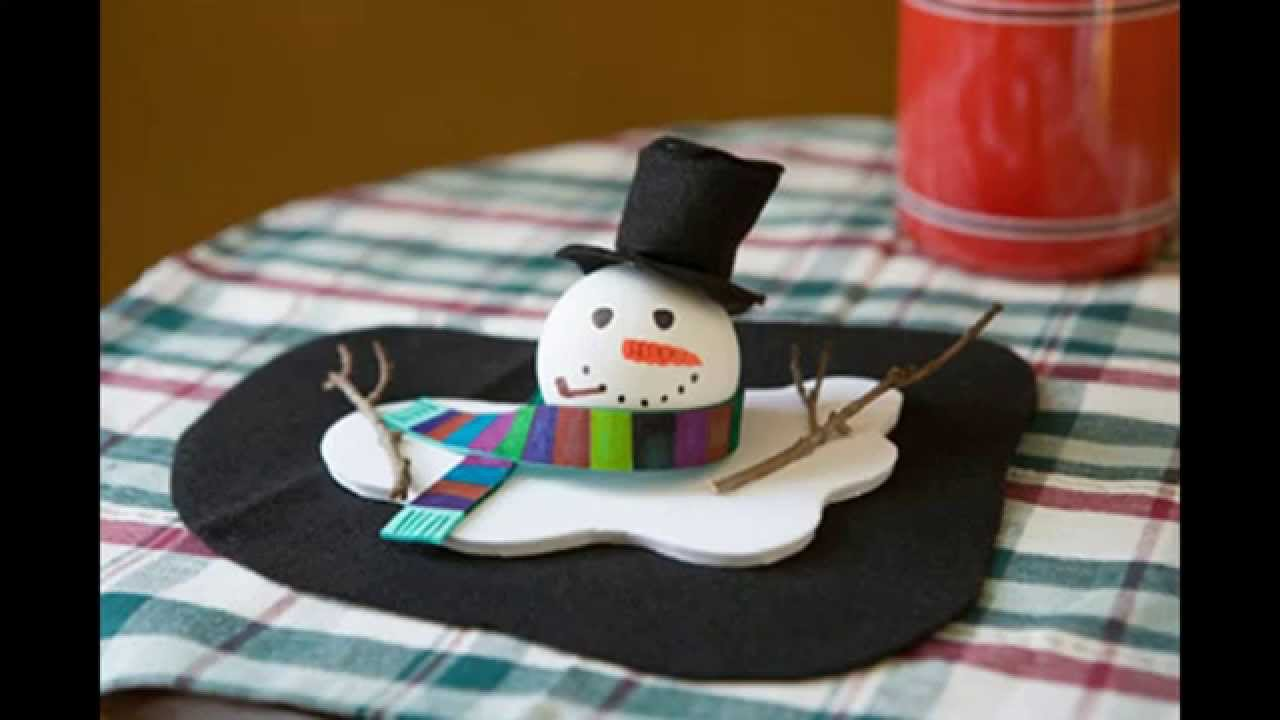 Easy Winter Crafts For Kids Youtube